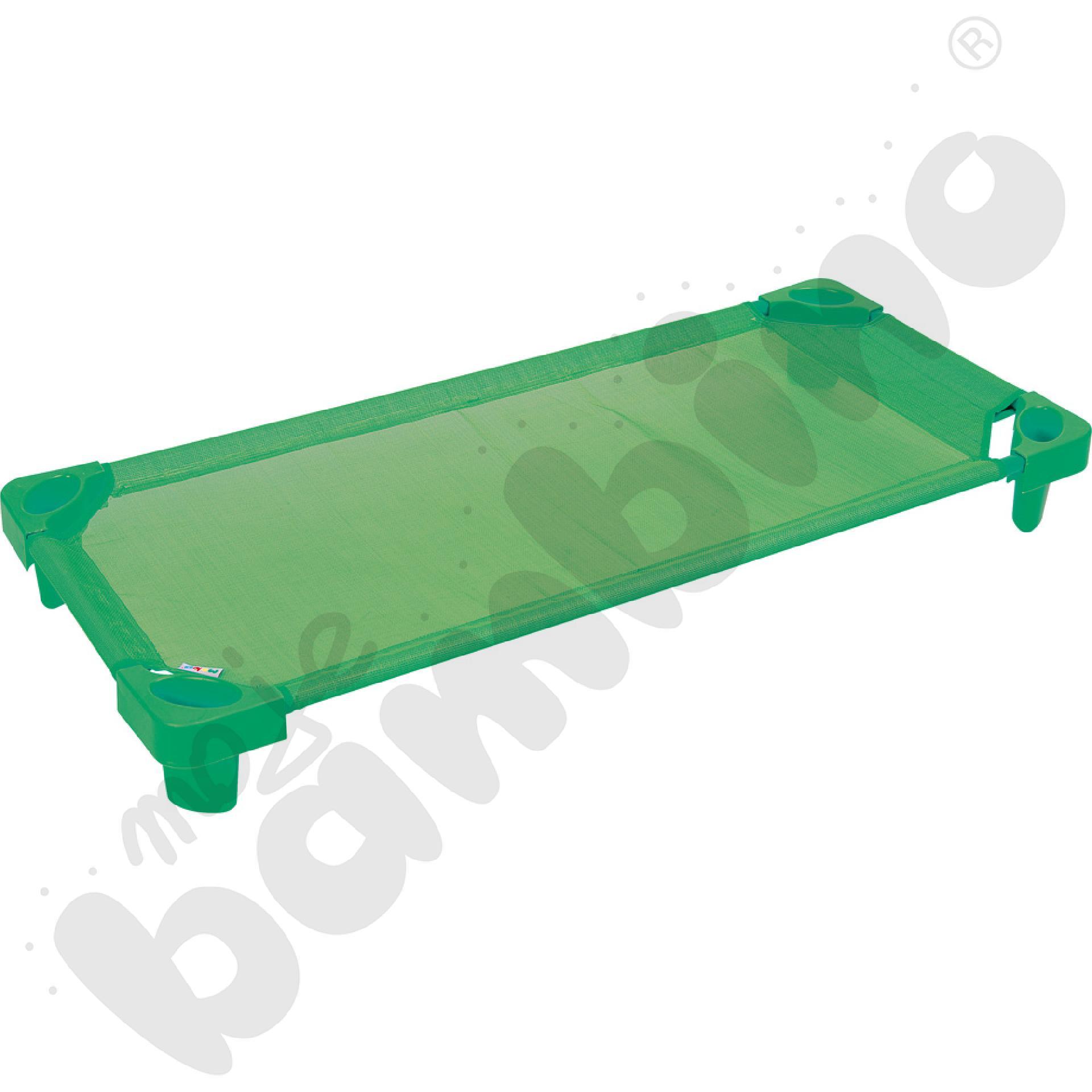 Łóżeczko zielone