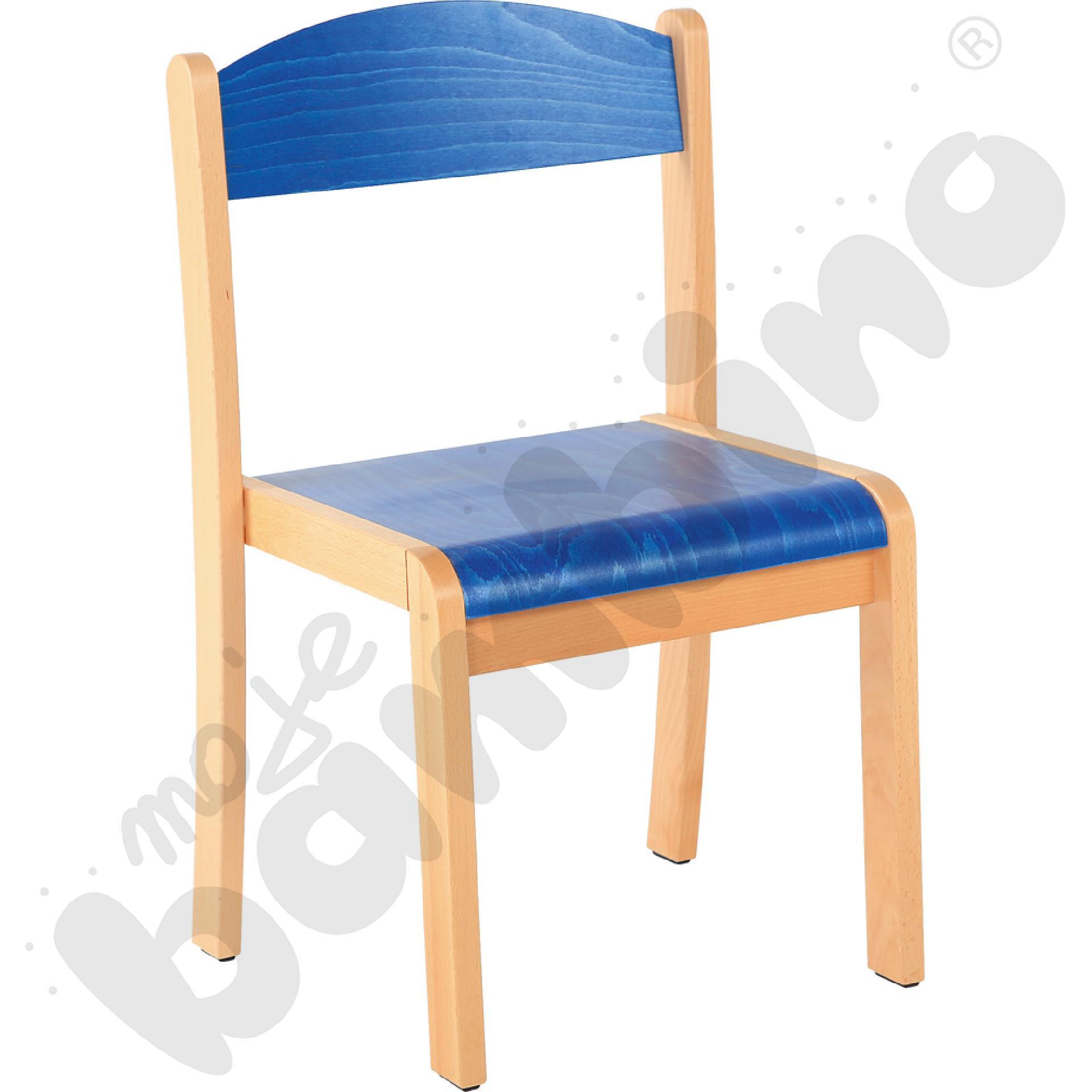 Krzesło Filipek rozm. 4 niebieskie