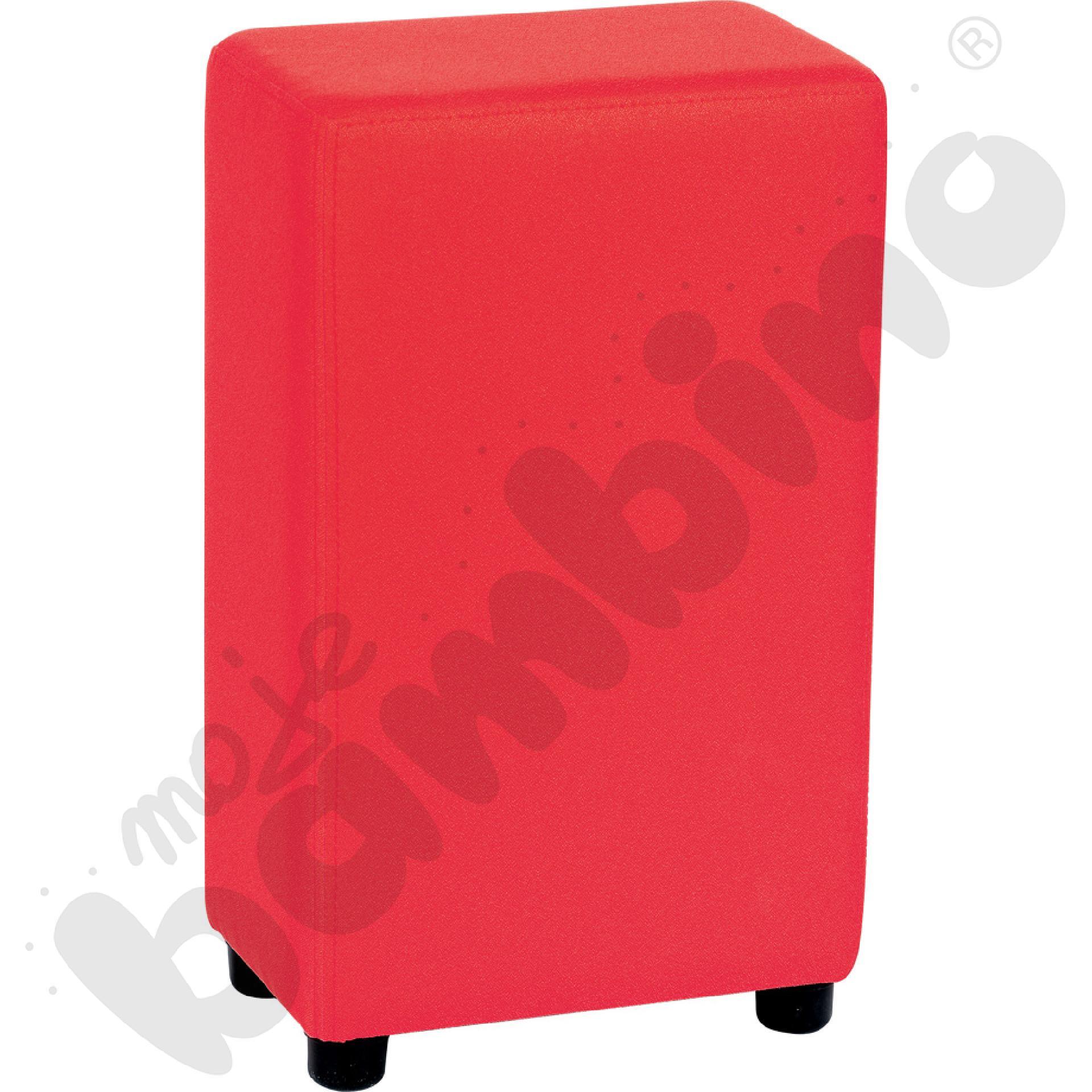 Podłokietnik Blocco Mini czerwony