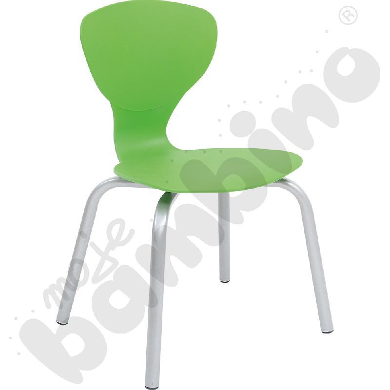 Krzesło Flexi zielone rozm. 6