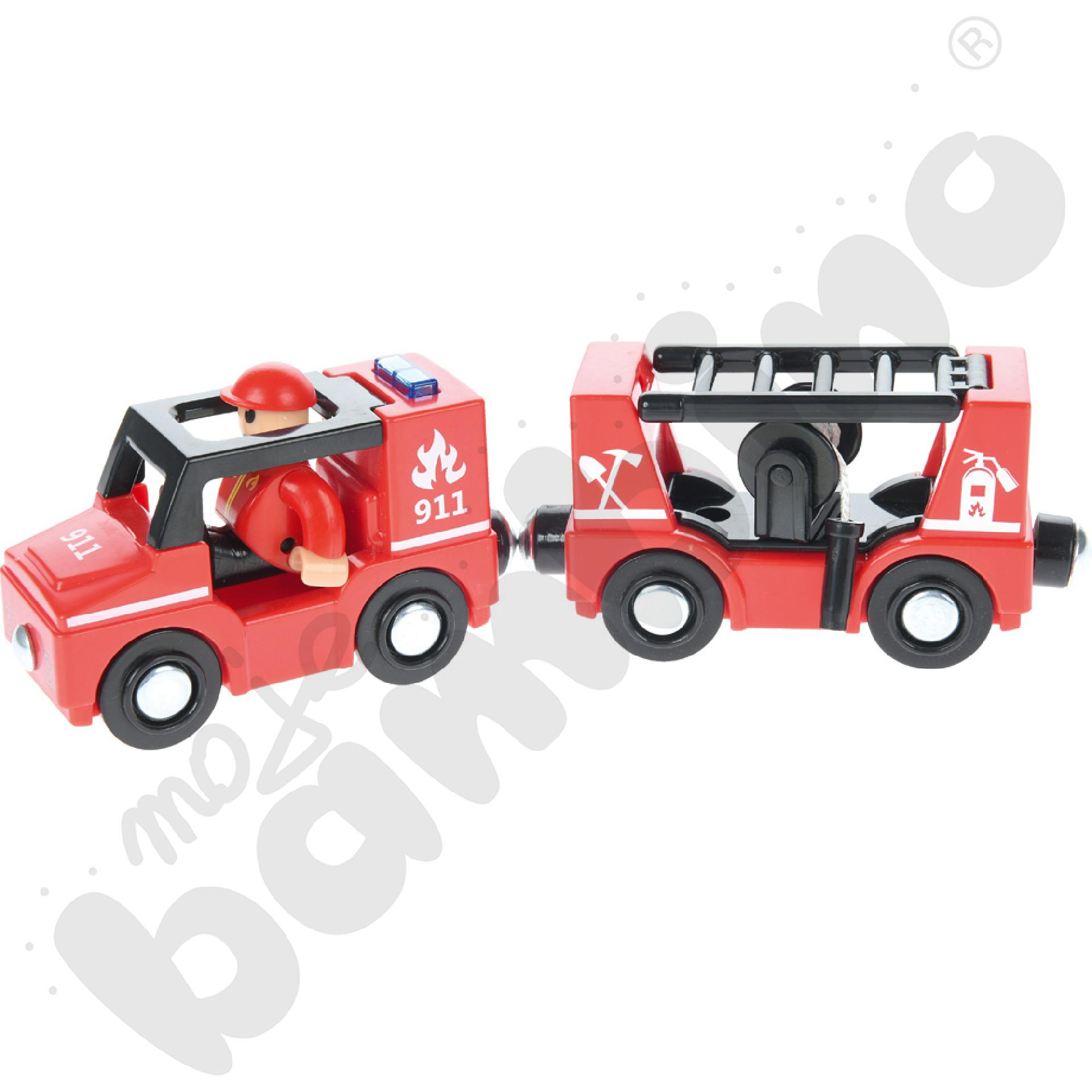 Wóz strażacki z dźwiękiem