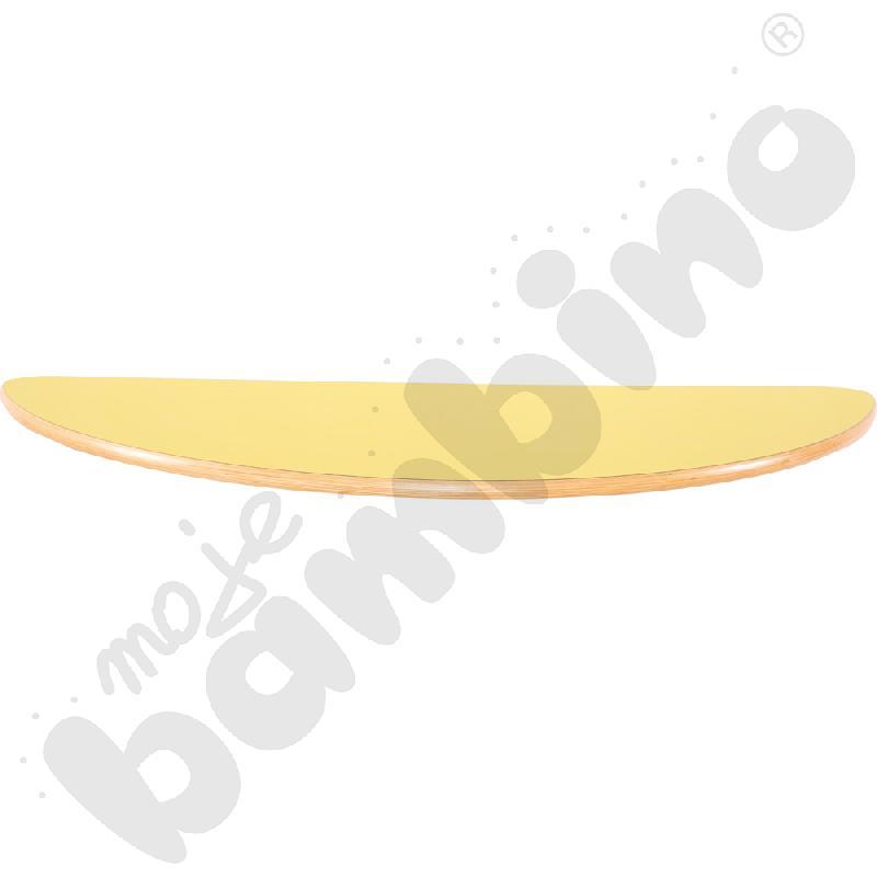Blat Flexi półokrągły- żółty