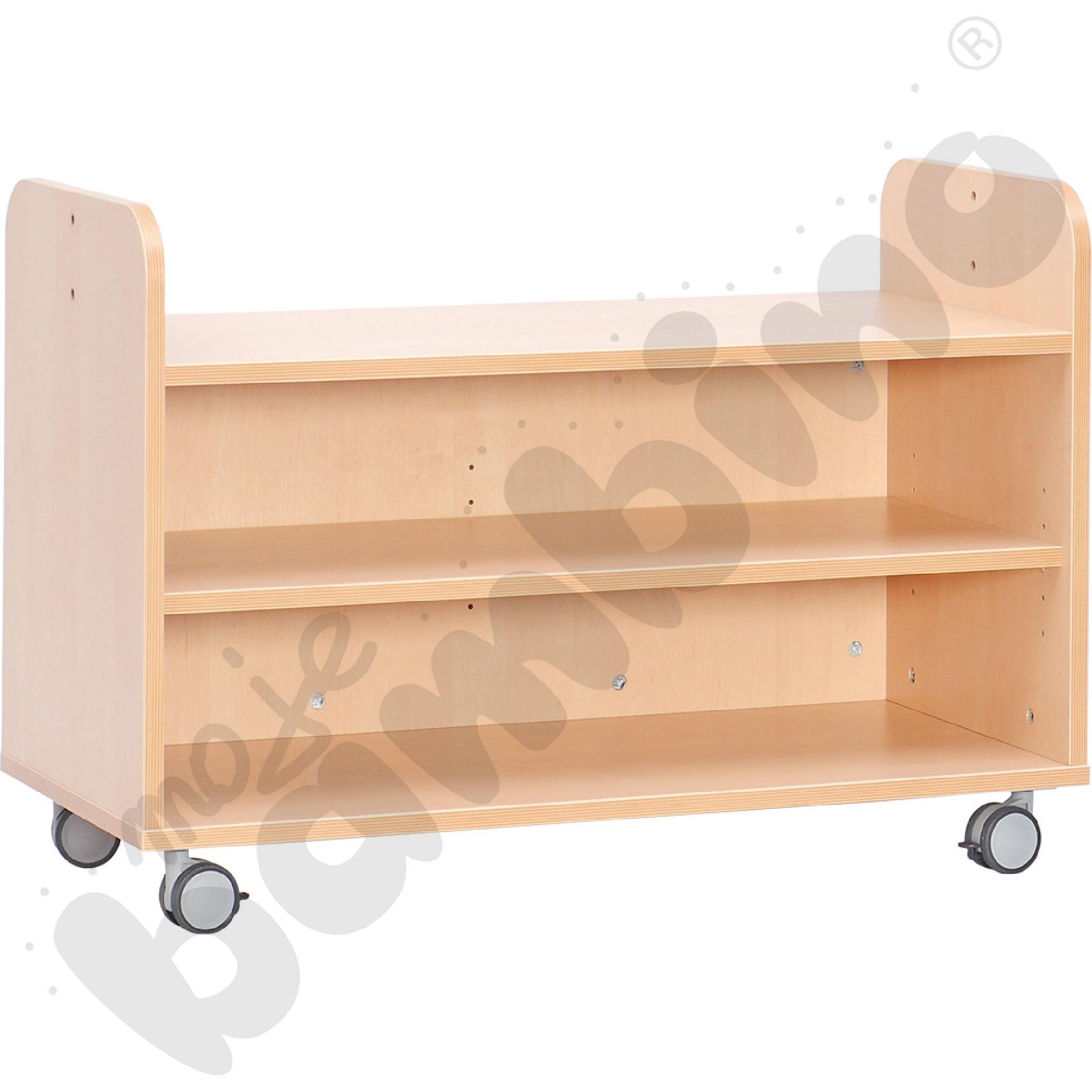 Mobilna szafka z półką do...