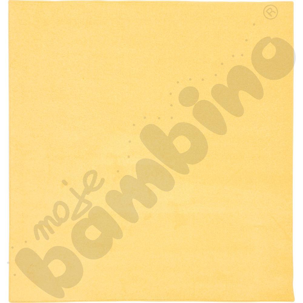 Dywan jednokolorowy - żółty 2 x 3 m