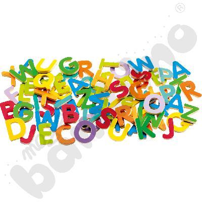 Magnetyczne litery drukowane