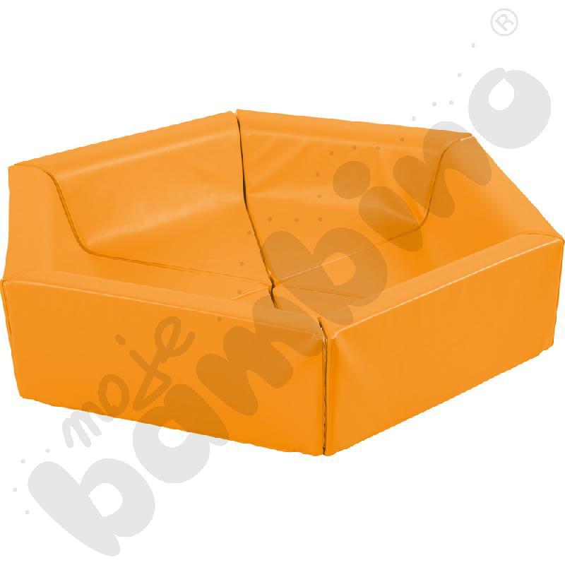 Piankowy kojec pomarańczowy...aaa