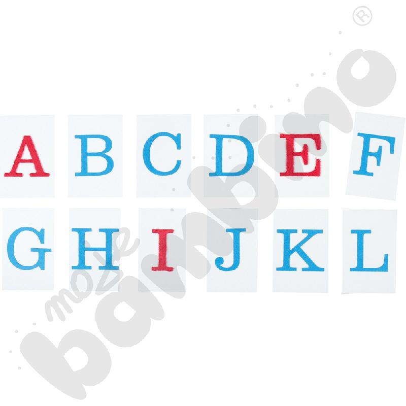 Alfabet - wielkie litery