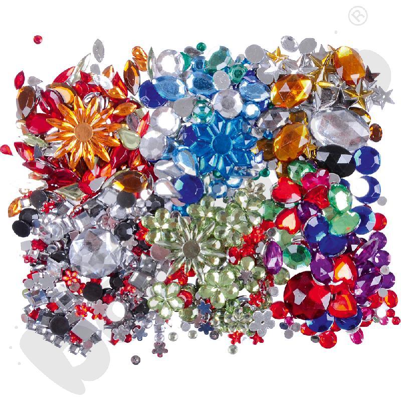 Zestaw kryształków deco - elegancki
