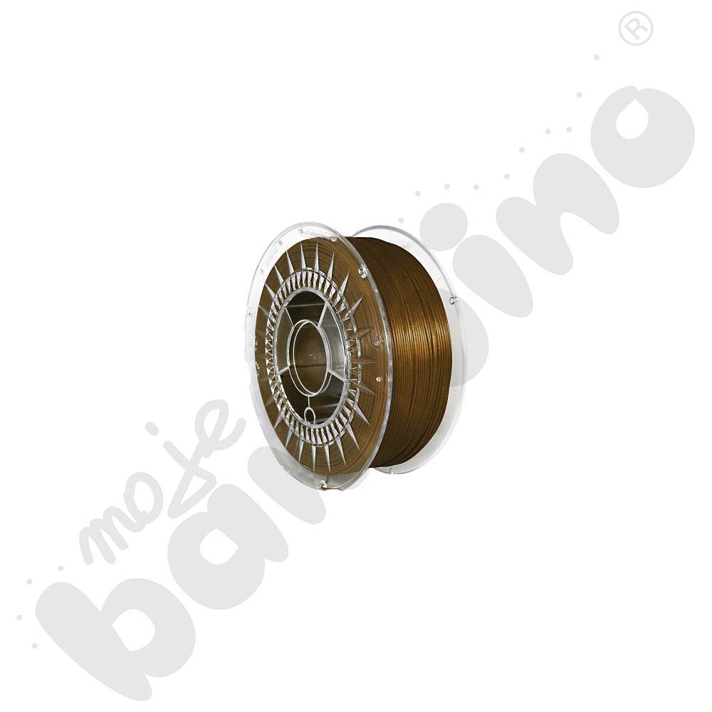 Filament do drukarki 3D - złoty