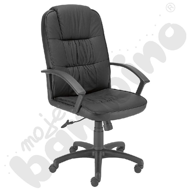 Fotel obrotowy ZIKO czarny