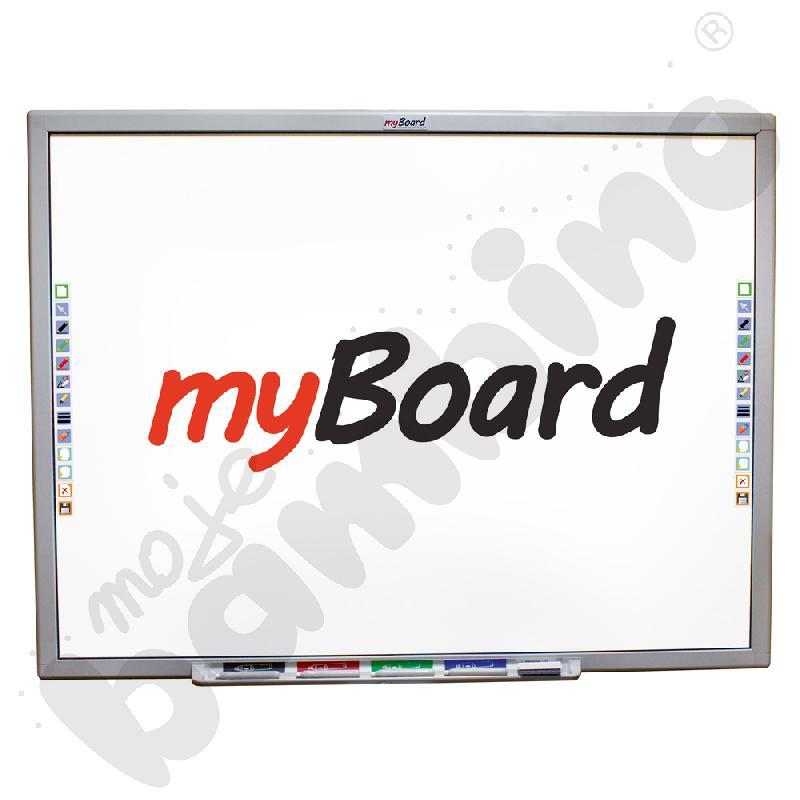 Tablica interaktywna panoramiczna wielodotykowa ceramiczna MyBoard 95