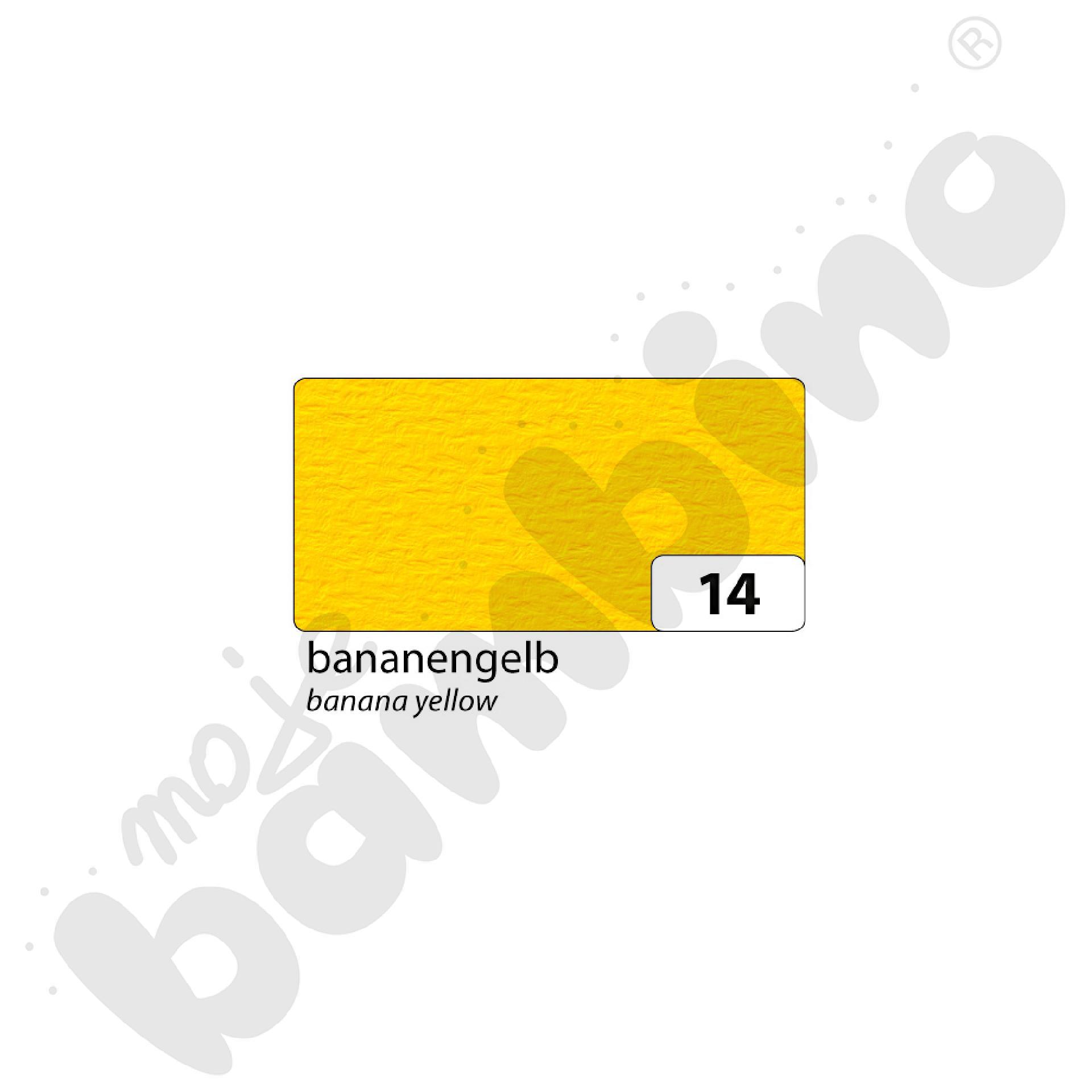 Karton fakturowy 10 arkuszy o wym. 50 x 70 cm żółty
