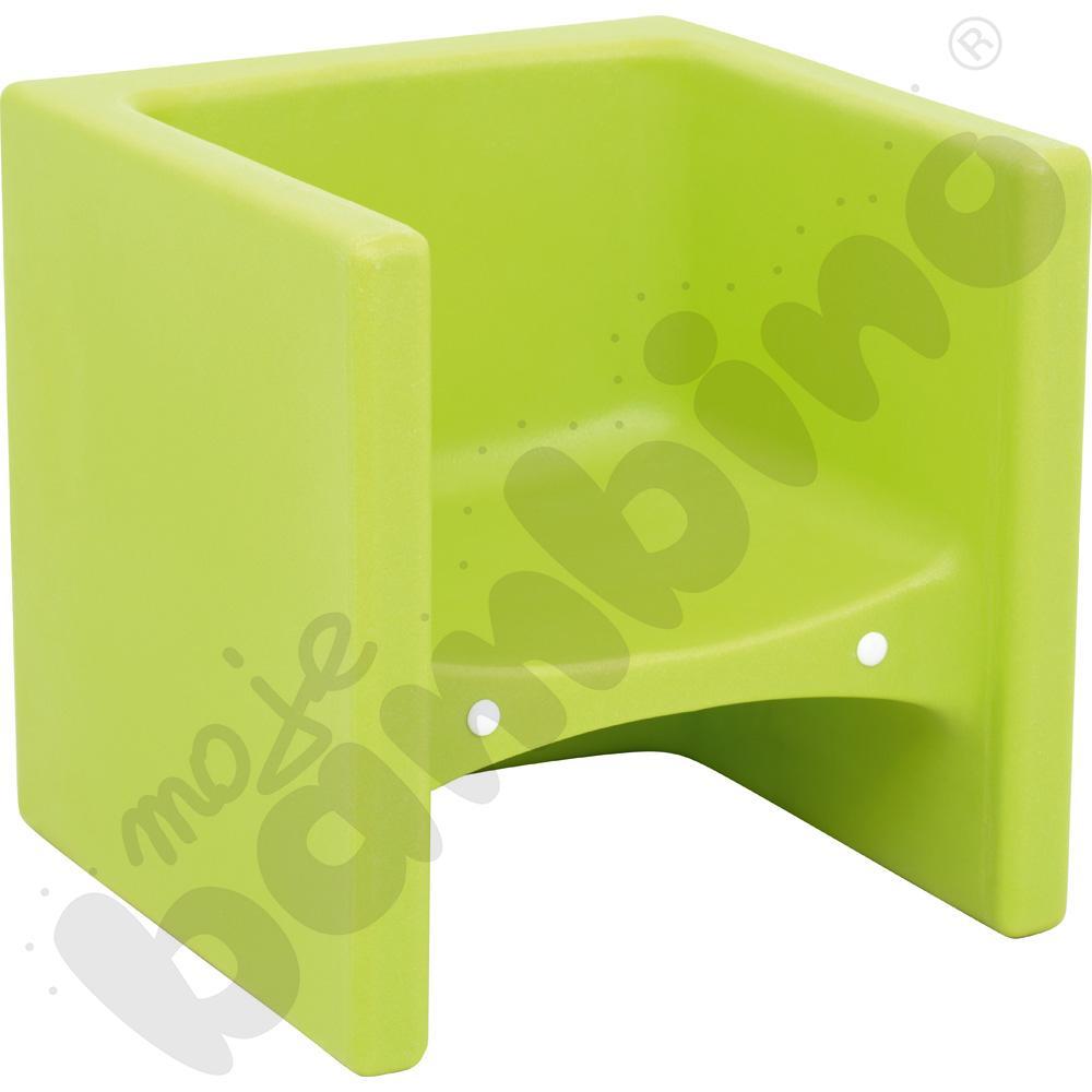 Fotelik Jaś limonkowy