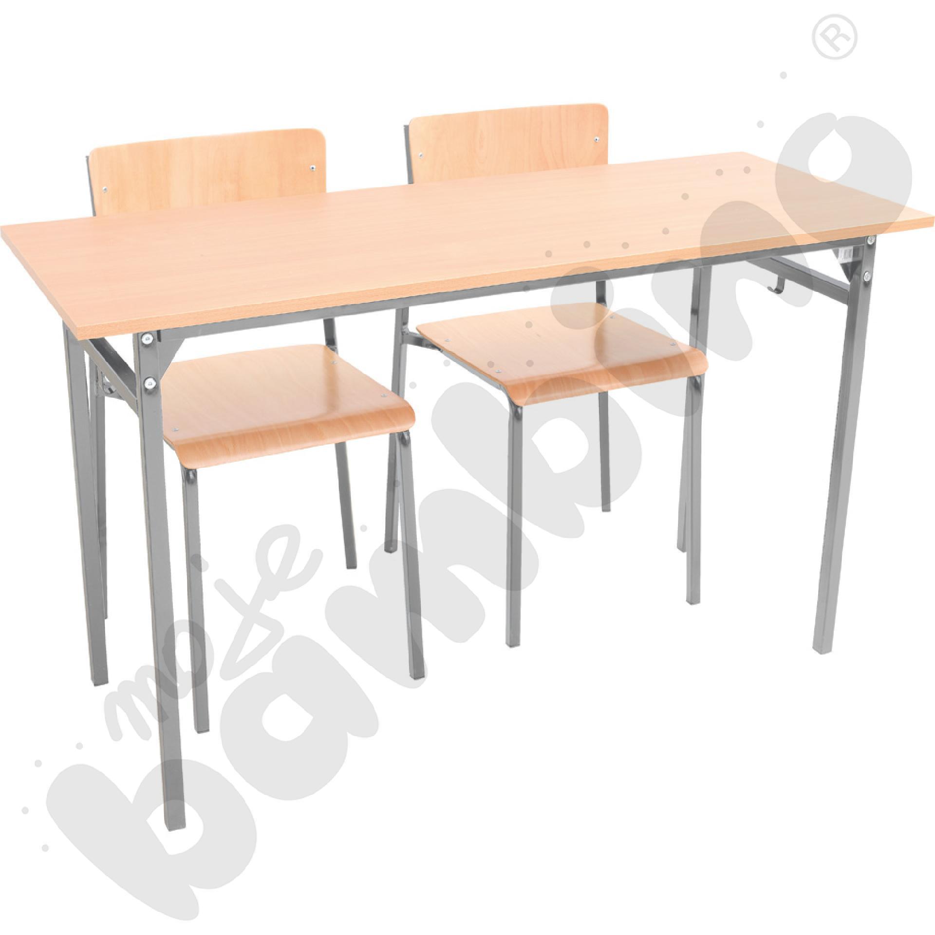 Stół B 2-os. z krzesłami B,...