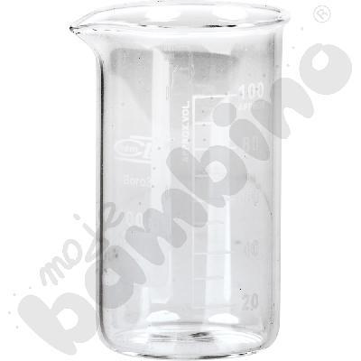 Zlewka wysoka szklana 100 ml