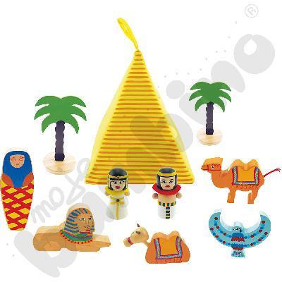 Mini wioska Egipcjan