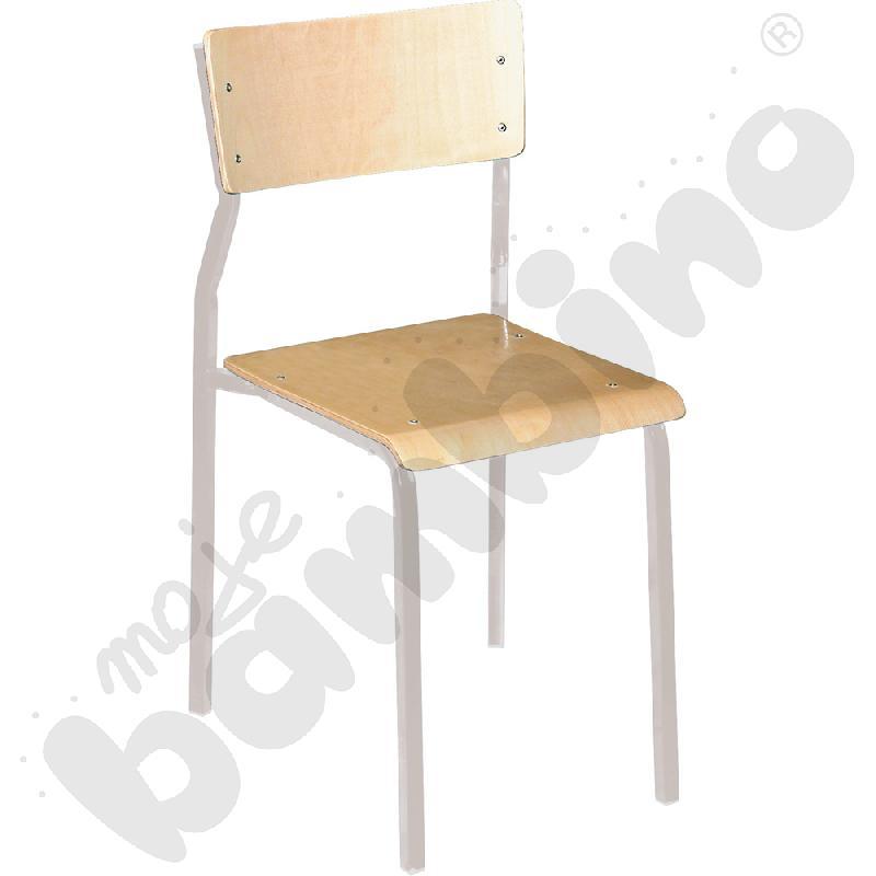 Krzesło B rozm. 5 srebrne