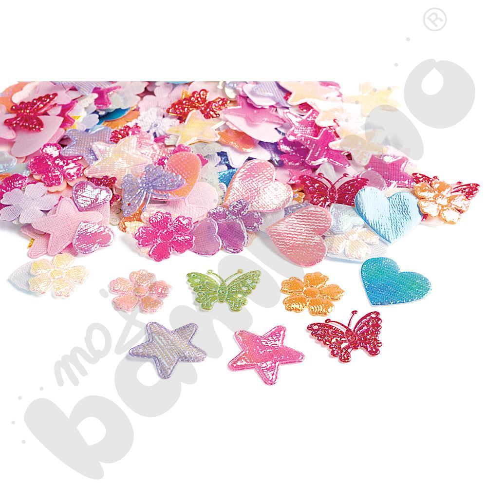 Fantazyjne kształty z tkaniny
