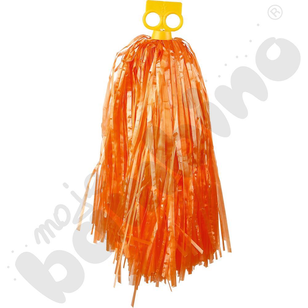 Pompon mały - pomarańczowy