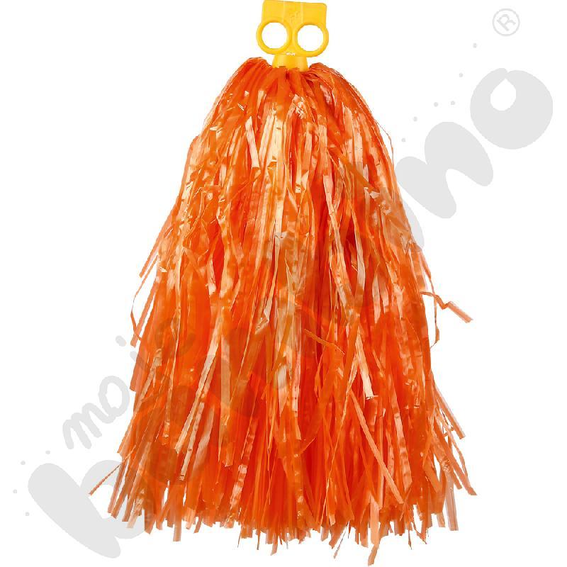Pompon duży - pomarańczowy