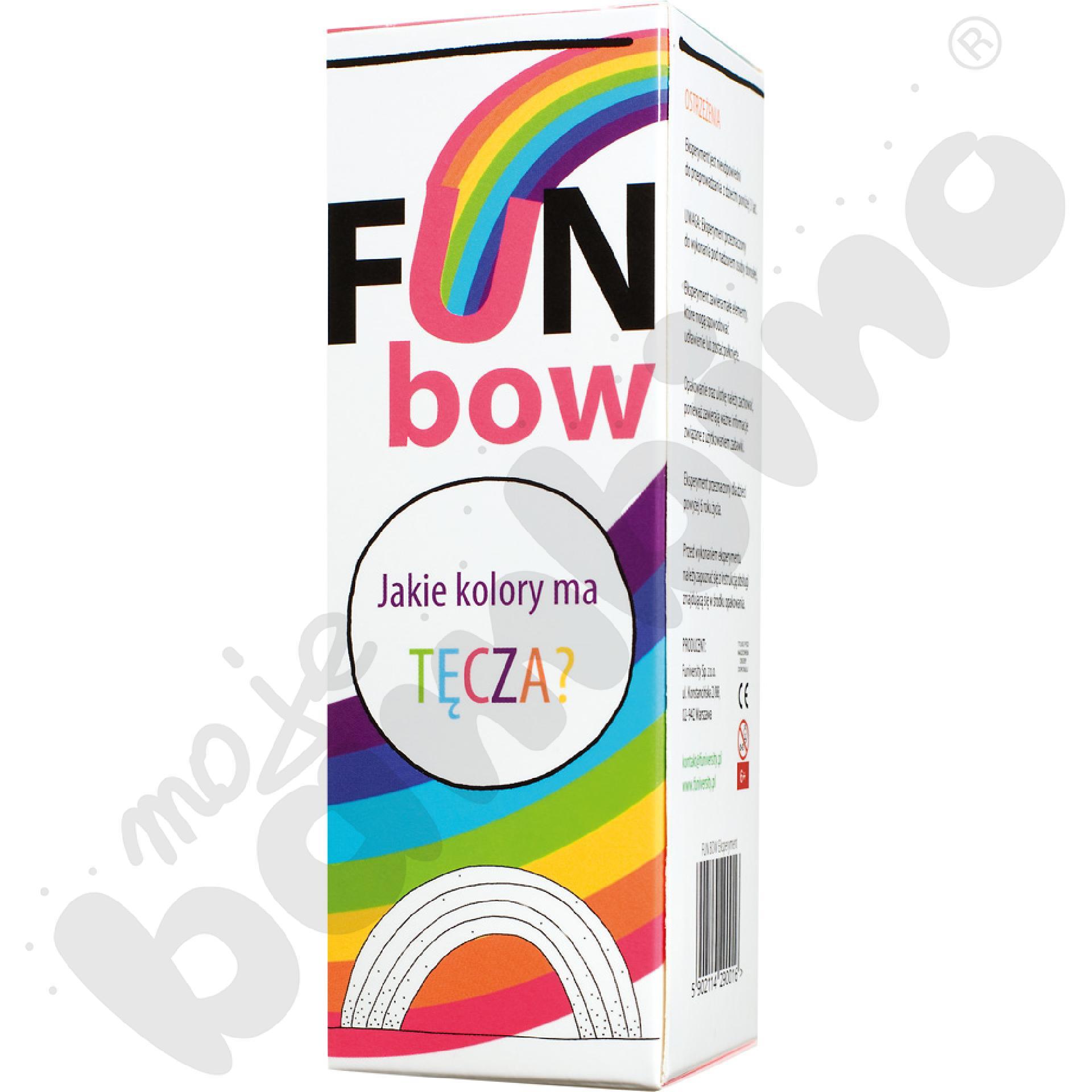 Fun bow - mini eksperyment z tęczą