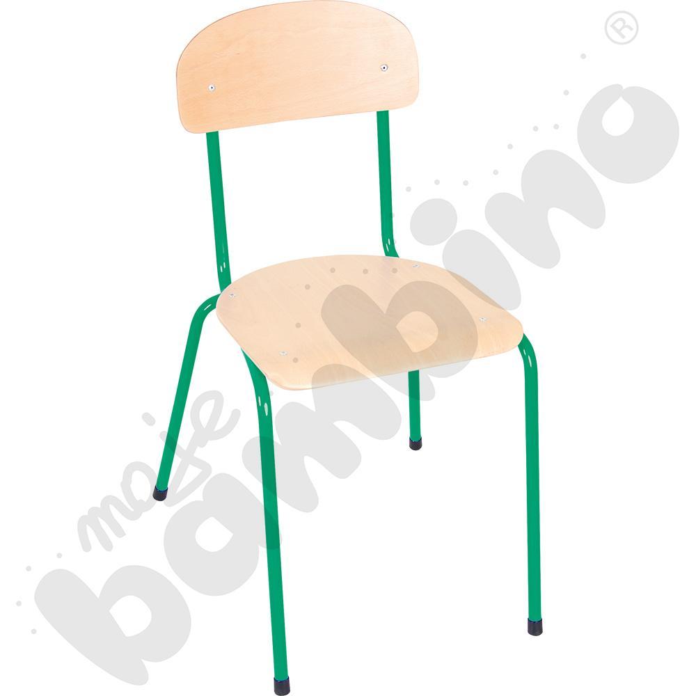 Krzesło Bambino rozm. 6 zielone