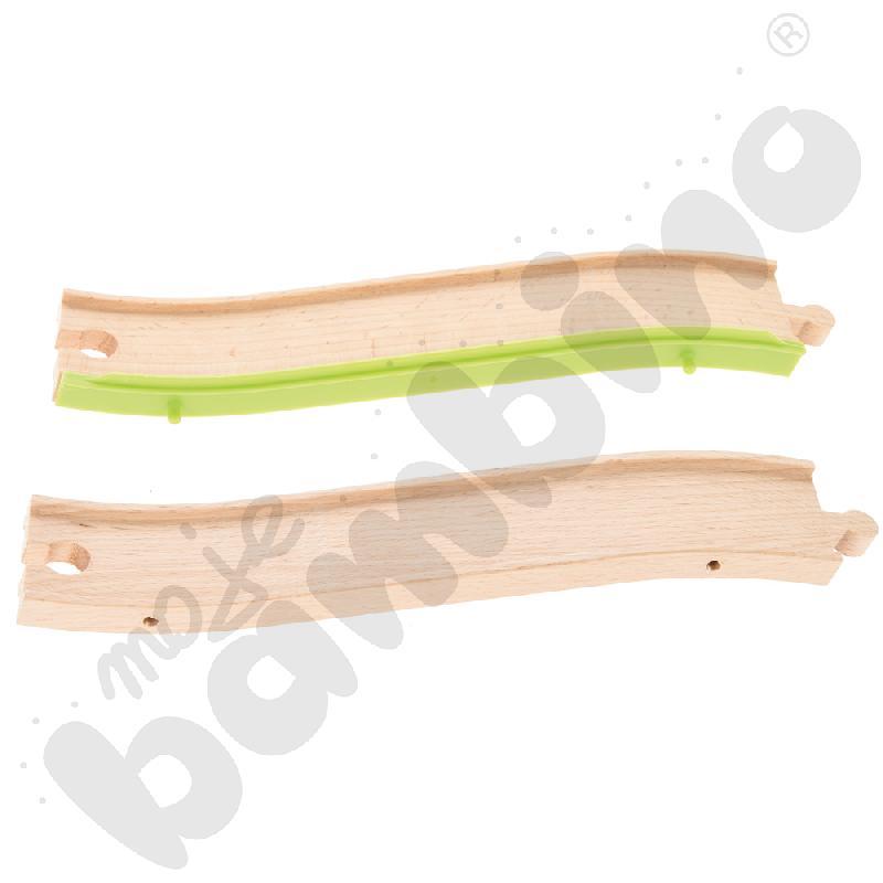 Drewniane tory - uzupełnienie 22, podwójne tory
