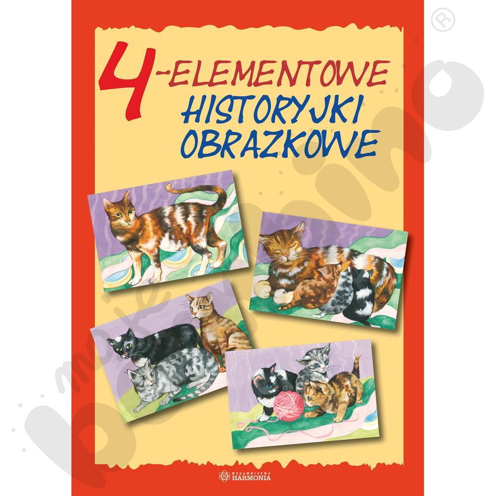 Historyjki obrazkowe 4 - elementowe