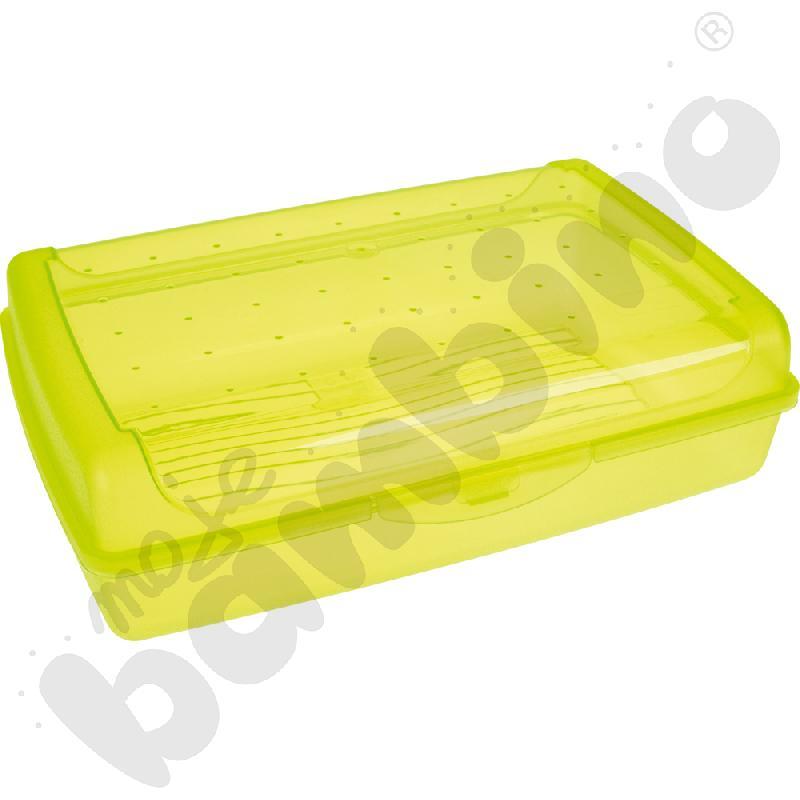 Pojemnik click-box zielony