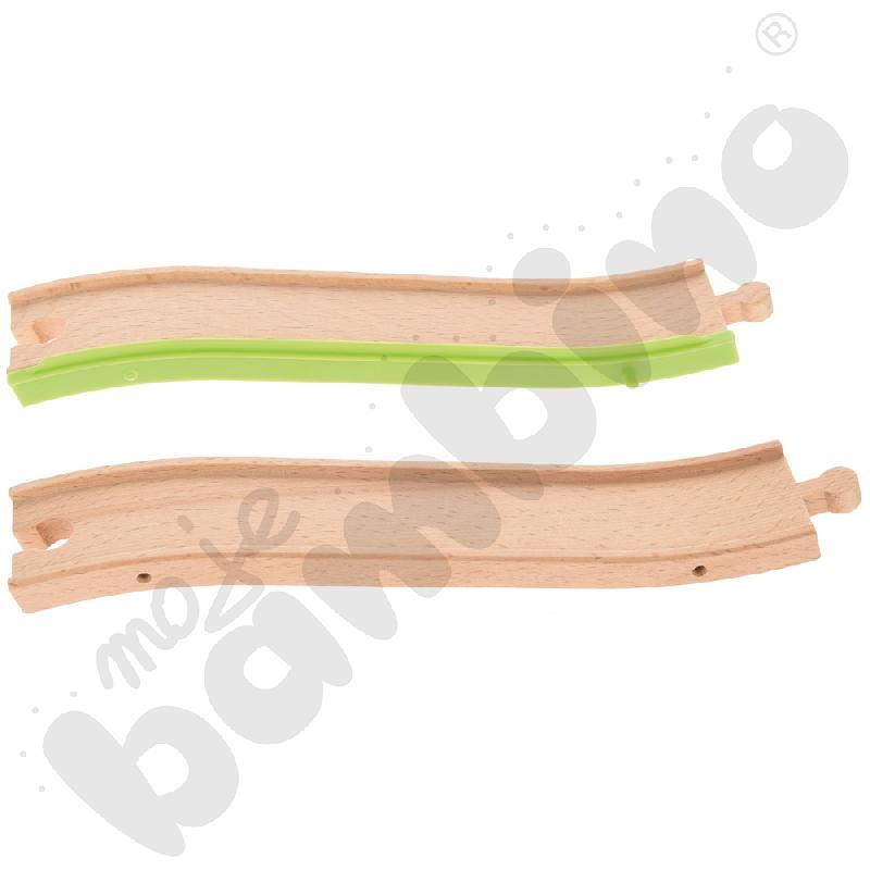 Drewniane tory - uzupełnienie 27, podwójne tory