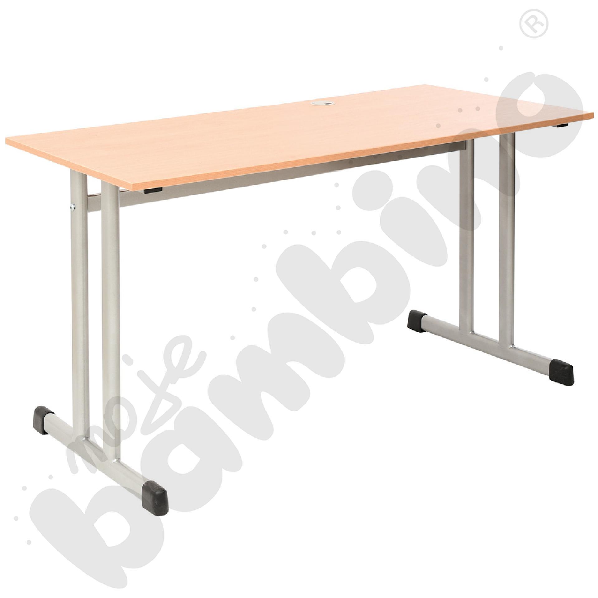 Stół IN-K 2-os srebrny rozm. 6