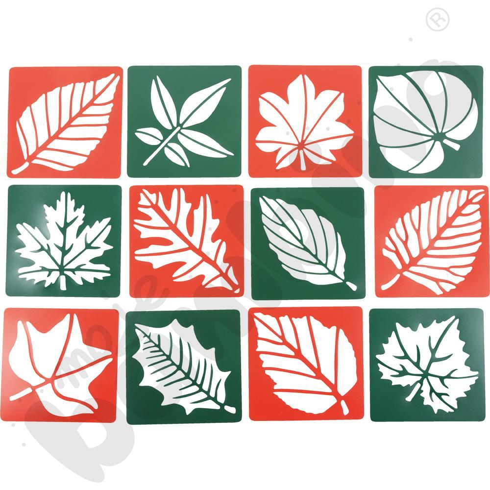 Szablony - liście