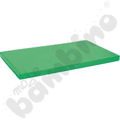 Materac antypoślizgowy wym. 150 x 90 x 8 cm zielony
