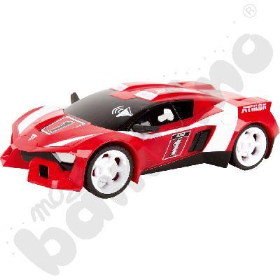 Wyścigówka z napędem - czerwona