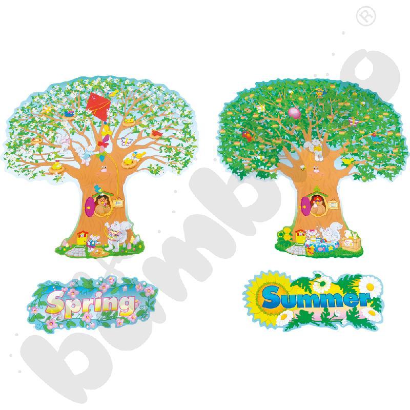 4-sezonowe drzewa - plansze