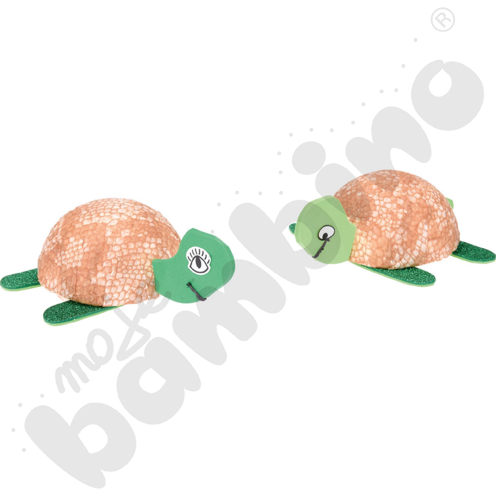 Bibuła karbowana żółw