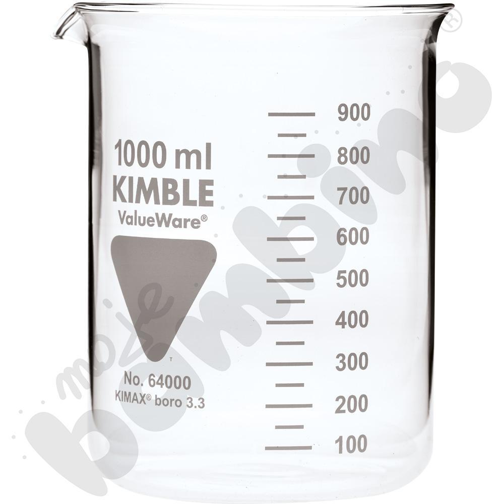Zlewka niska szklana 1000 ml