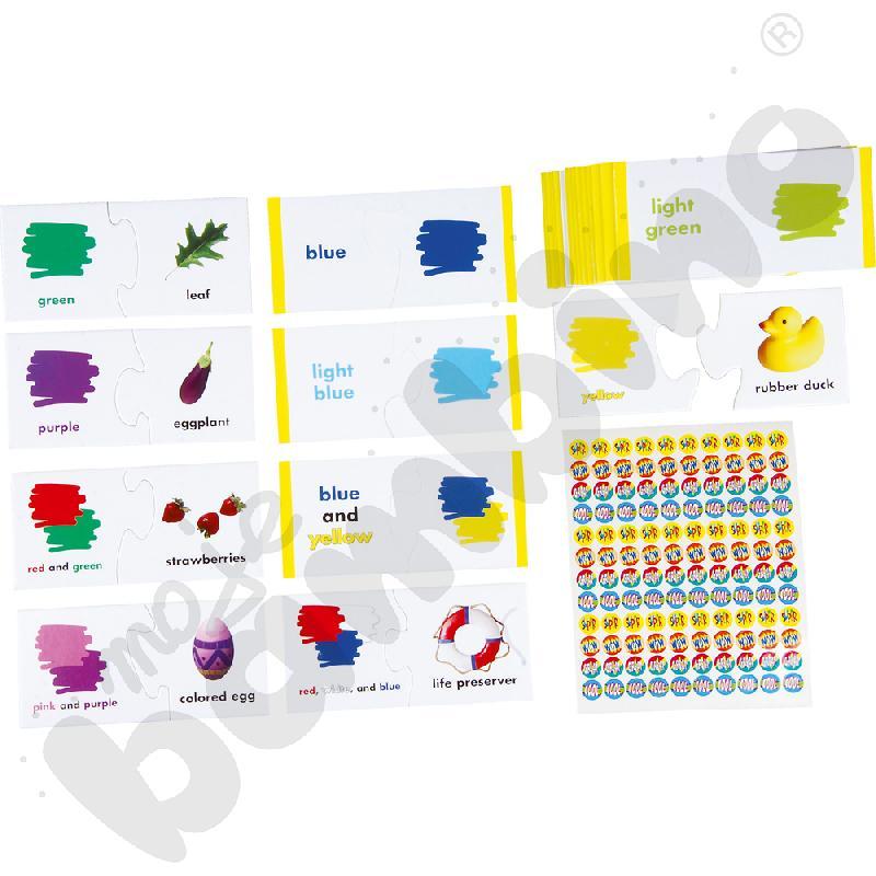 Kolory i nazwy - puzzle