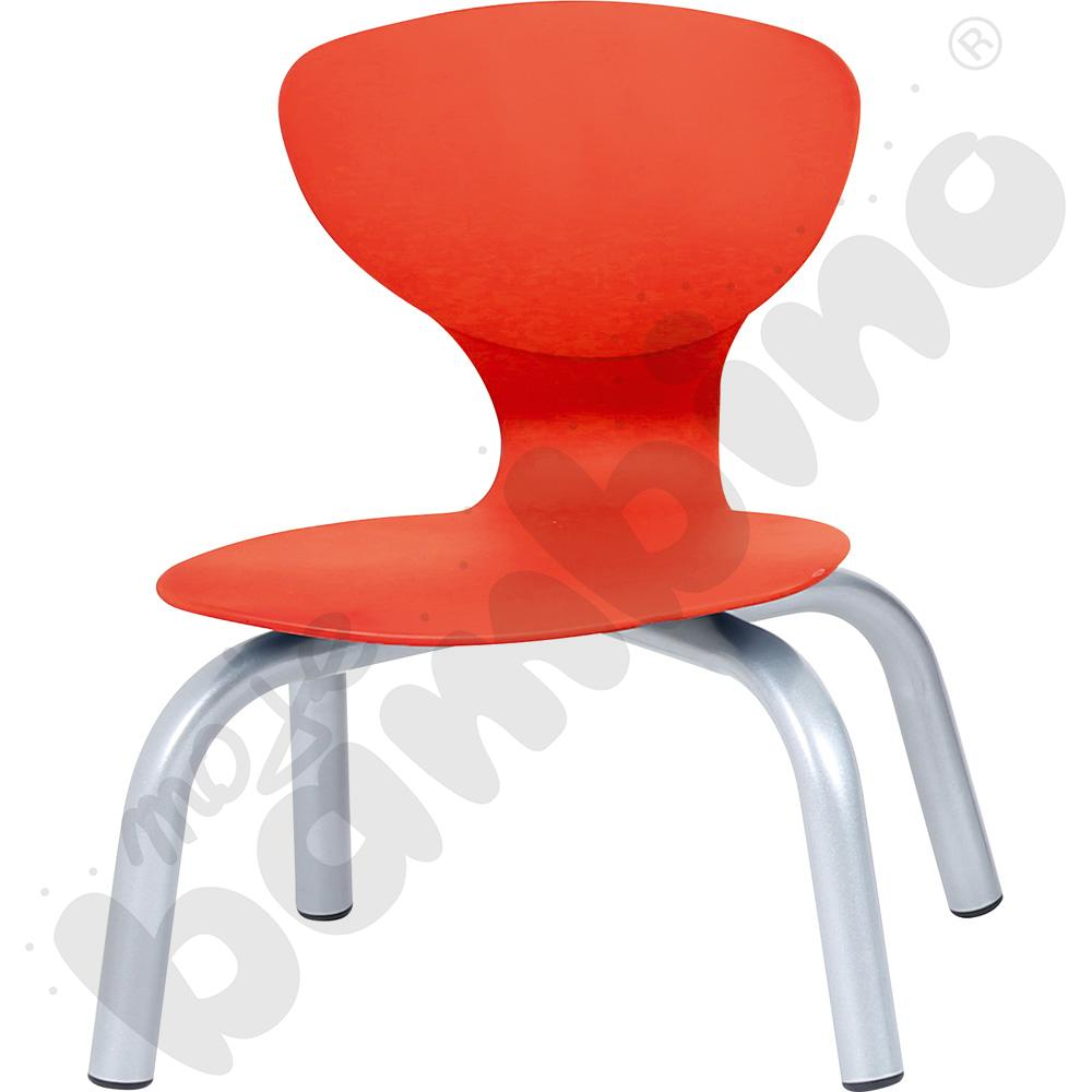 Krzesło Flexi czerwone rozm. 1