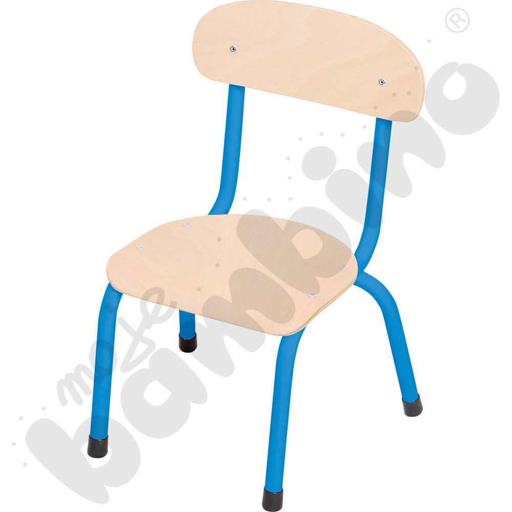 Krzesło Bambino rozm. 0 niebieskie