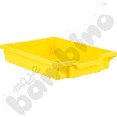 Pojemnik płytki 1 - żółty