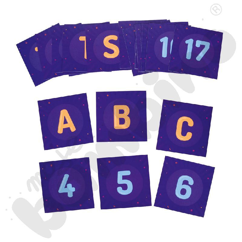 Zestaw Fiszek do Photona - alfabet i liczby
