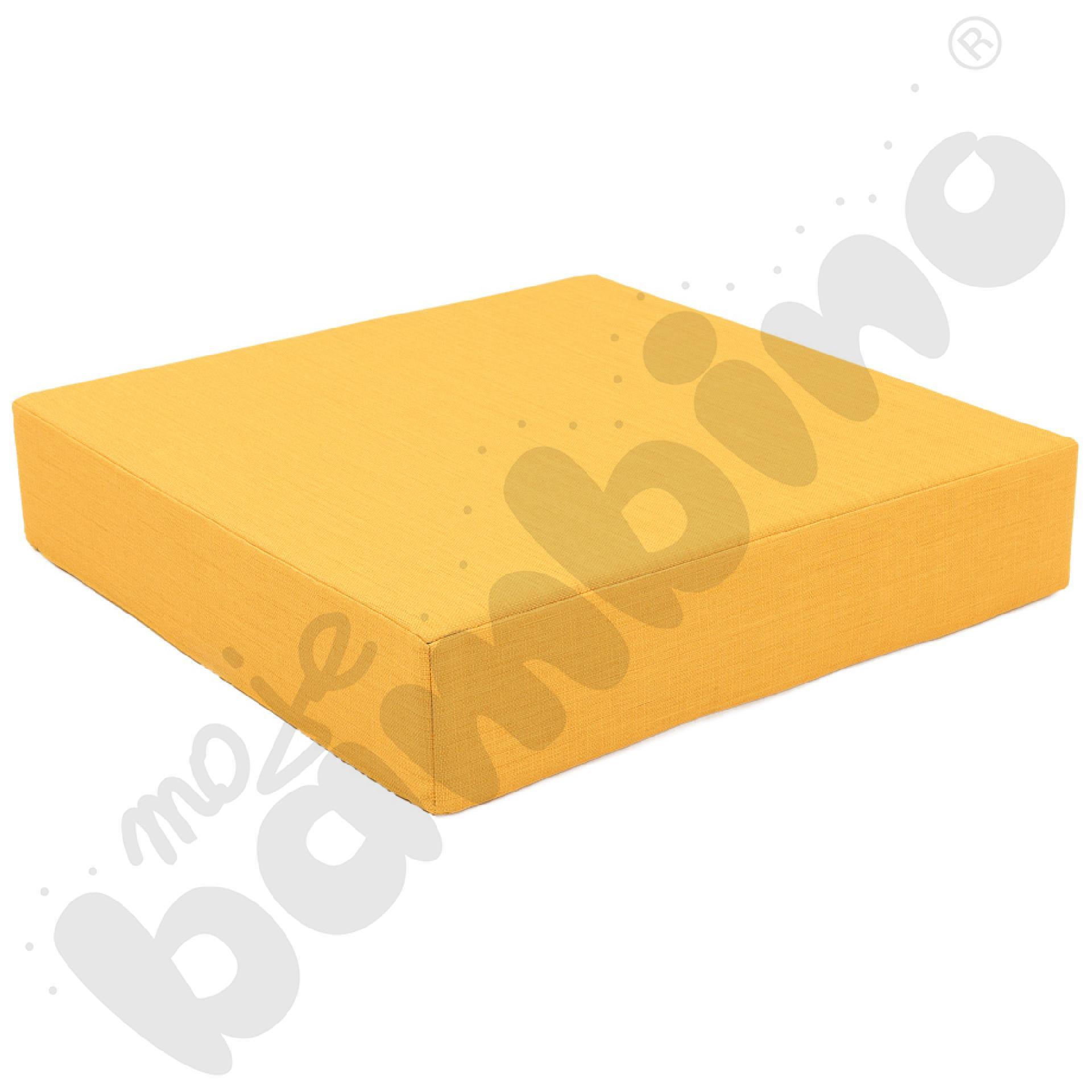 Materac Quadro 2 żółty, wys. 15 cm