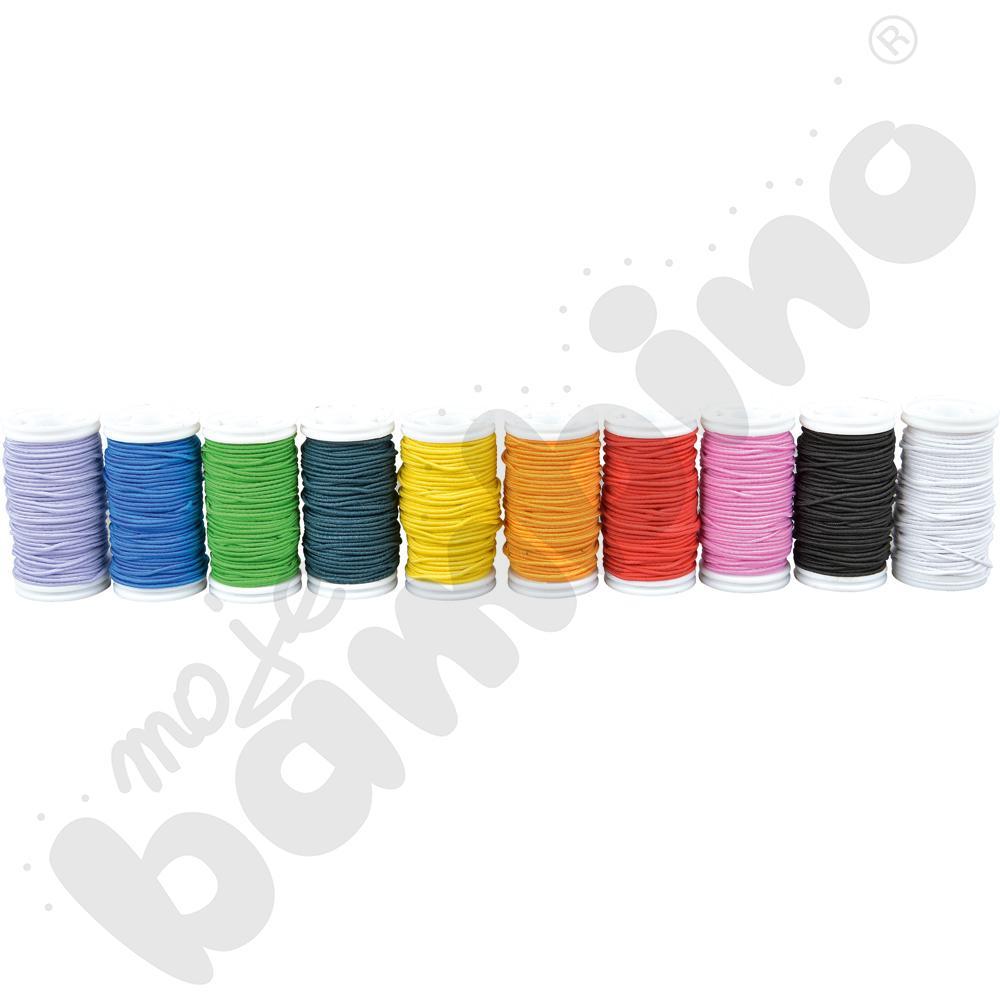 Gumki kolorowe