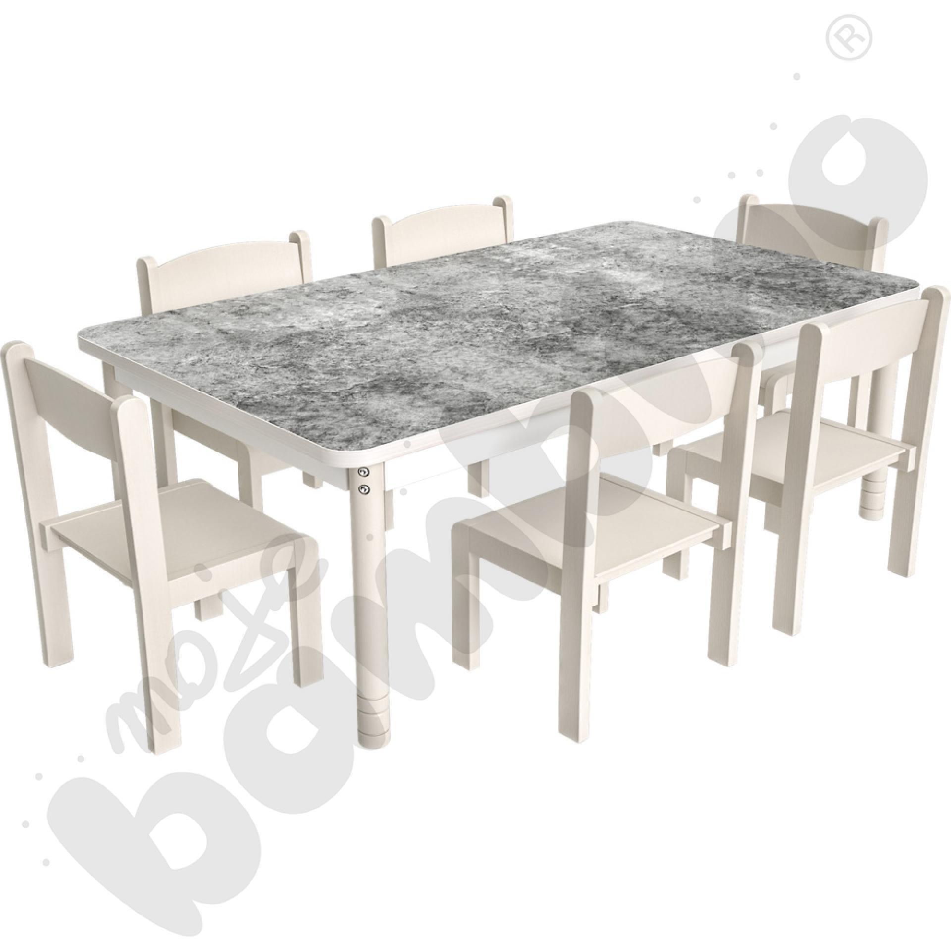 Cichy stół Plus 140 x 80...