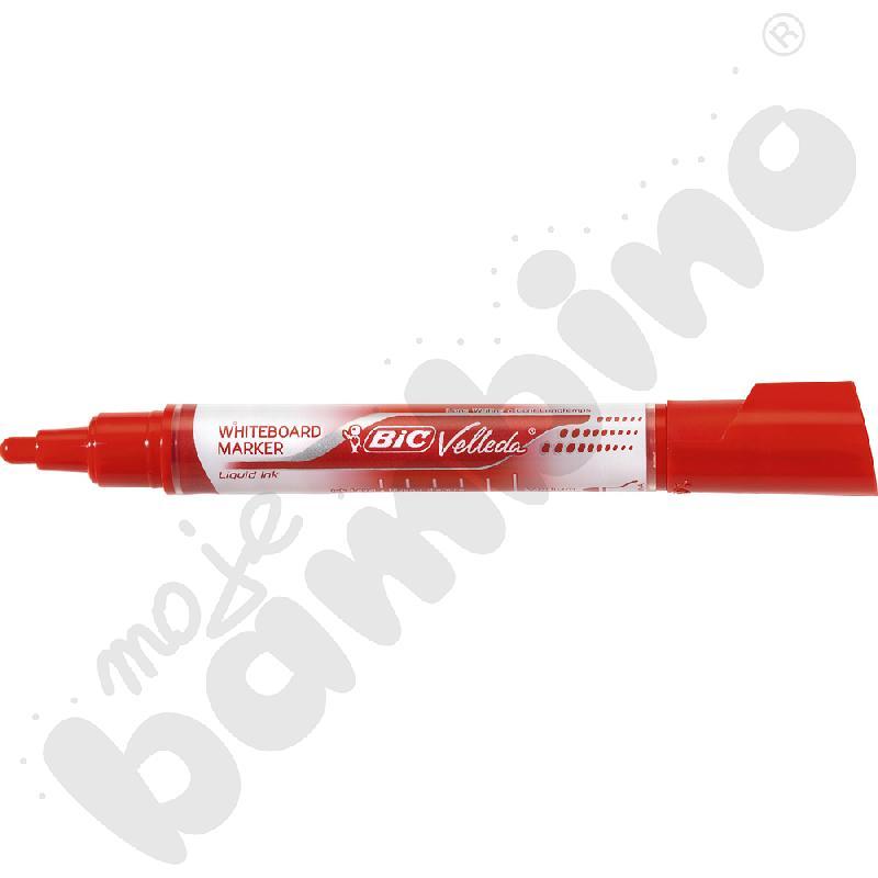 Marker suchościeralny BIC - czerwony