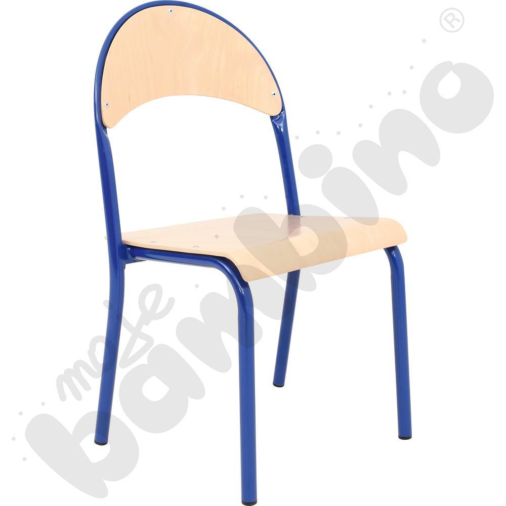 Krzesło P rozm. 2 niebieskie