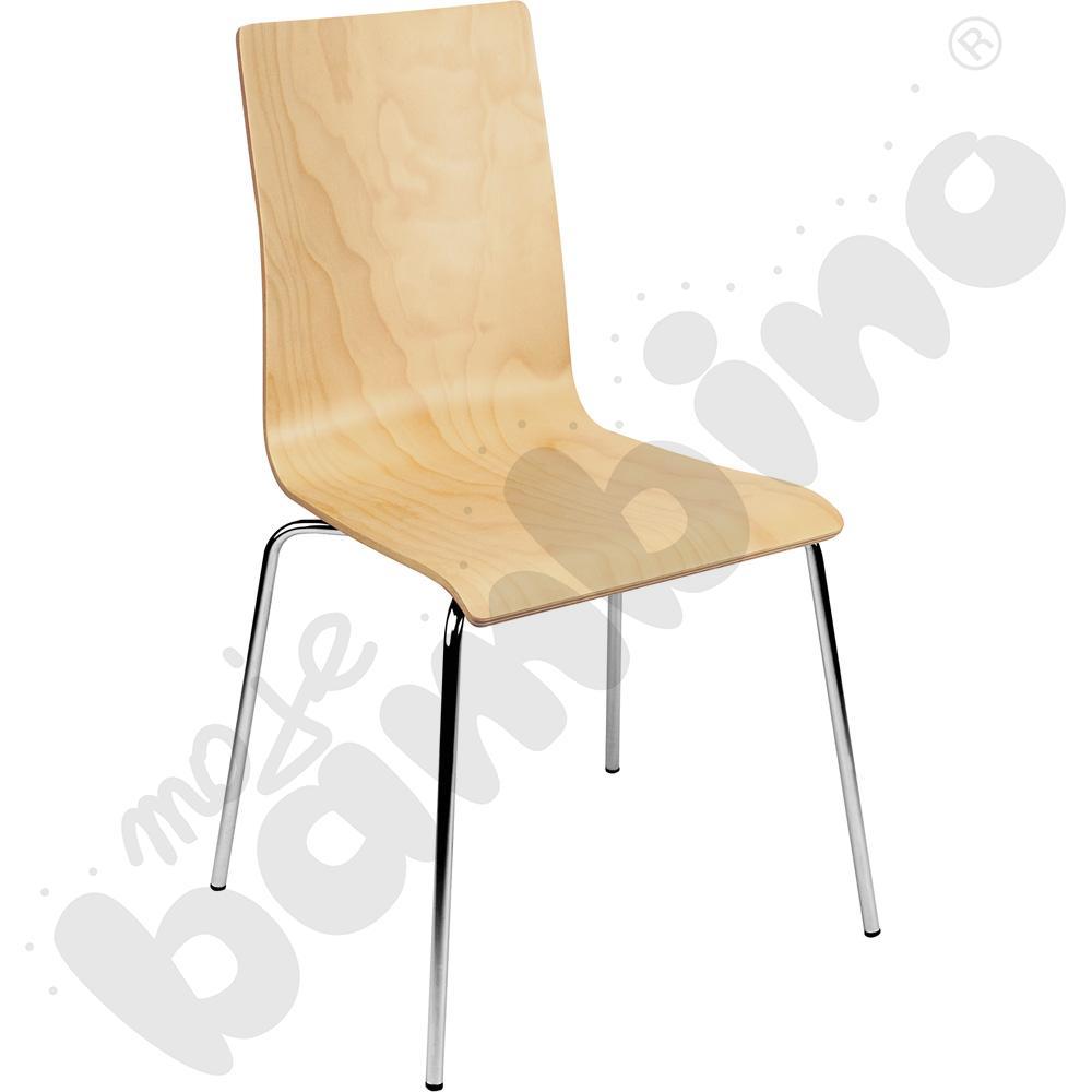 Krzesło Cafe VII chrome