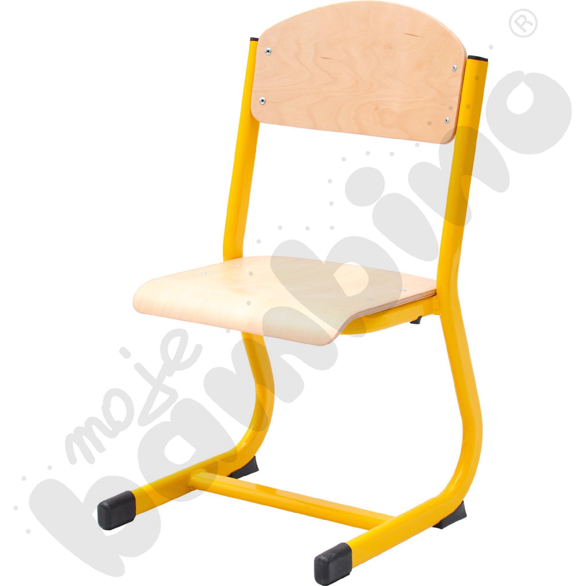 Krzesło IN-C rozm. 3 żółte