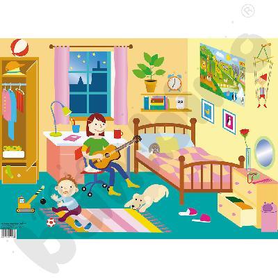 Tablica tematyczna Pokój dziecięcy